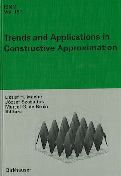 Trends and Applications in Constructive Approximation
