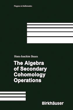The Algebra of Secondary Cohomology Operations