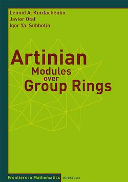 Artinian Modules over Group Rings