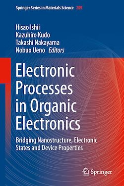 Electronic Processes in Organic Electronics