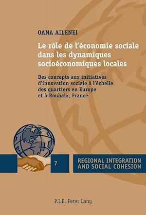 Téléchargez le livre :  Le rôle de l'économie sociale dans les dynamiques socioéconomiques locales