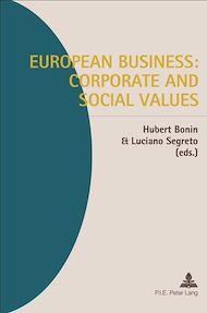 Téléchargez le livre :  European Business: Corporate and Social Values