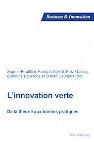 Téléchargez le livre :  L'innovation verte
