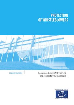 Protection of whistleblowers