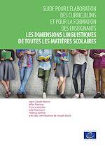 Download this eBook Les dimensions linguistiques de toutes les matières scolaires