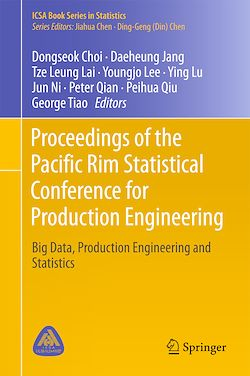 Proceedings of the Pacific Rim Statistical Conference for Production Engineering
