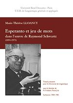 Esperanto et jeu de mots dans l'œuvre de Raymond Schwartz