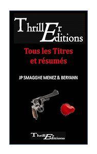 Téléchargez le livre :  Catalogue Thriller Editions 2020 Collection Thriller & Etrange
