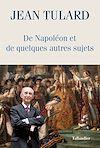 Télécharger le livre :  De Napoléon et de quelques autres sujets
