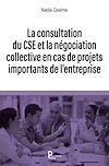 Télécharger le livre :  La consultation du CSE et la négociation collective en cas de projet important de l'entreprise