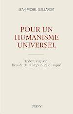 Download this eBook Pour un humanisme universel