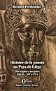 Télécharger le livre : Histoire de la pensée au Pays de Liège