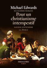 Download this eBook Pour un christianisme intempestif
