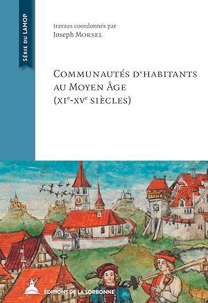 Téléchargez le livre :  Communautés d'habitants au Moyen Âge