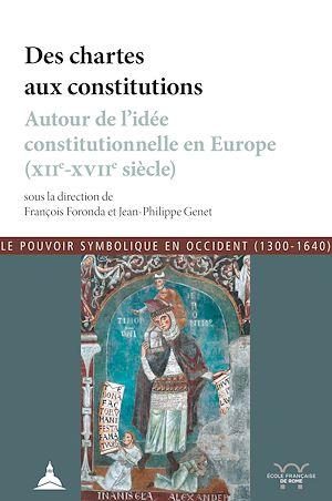 Téléchargez le livre :  Des chartes aux constitutions