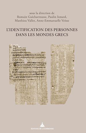 Téléchargez le livre :  L'identification des personnes dans les mondes grecs