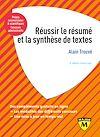 Télécharger le livre :  Réussir le résumé et la synthèse de texte