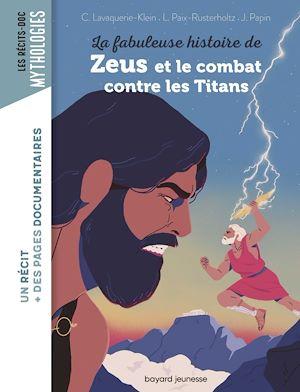 Image de couverture (La fabuleuse histoire de Zeus et le combat contre les Titans)