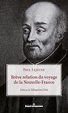 Télécharger le livre :  Brève relation du voyage de la Nouvelle-France