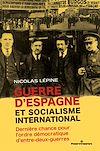 Télécharger le livre :  Guerre d'Espagne et socialisme international
