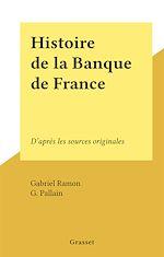 Download this eBook Histoire de la Banque de France