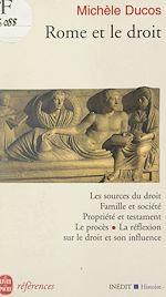 Téléchargez le livre :  Rome et le droit