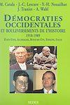 Télécharger le livre :  Démocraties occidentales et bouleversements de l'histoire, 1918-1989