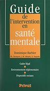 Télécharger le livre :  Guide de l'intervention en santé mentale