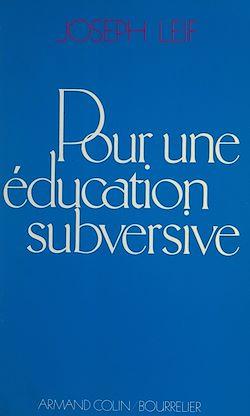 Download the eBook: Pour une éducation subversive