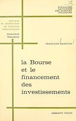 Download this eBook La Bourse et le financement des investissements