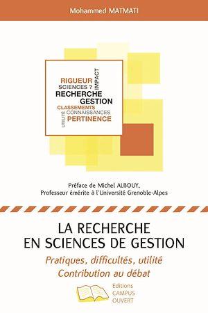 Téléchargez le livre :  RECHERCHE EN SCIENCES DE GESTION (LA)