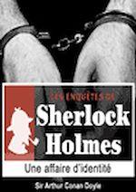 Download this eBook Sherlock Holmes - Une affaire d'identité
