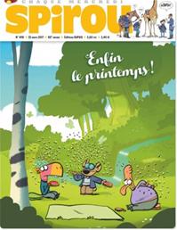 Téléchargez le livre numérique:  Journal Spirou - Tome 4119 - n° 4119
