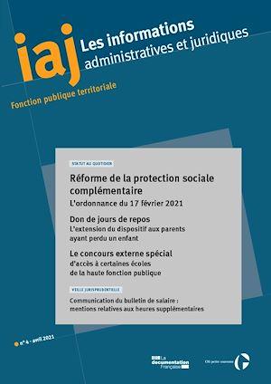 Téléchargez le livre :  Réforme de la protection sociale complémentaire : l'ordonnance du 17 février 2021 - Avril 2021