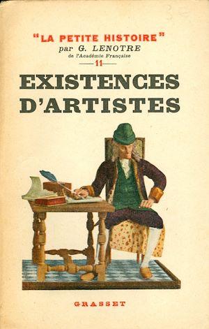 Téléchargez le livre :  Existences d'artistes