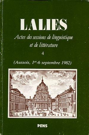 Téléchargez le livre :  Lalies 04