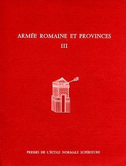 Téléchargez le livre numérique:  Armée romaine et provinces, III