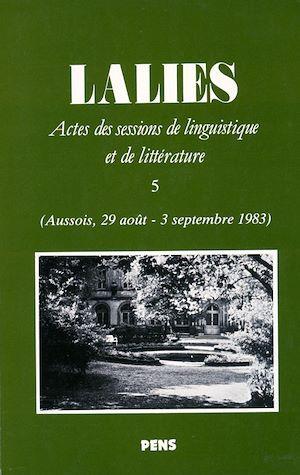 Téléchargez le livre :  Lalies 05