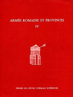 Téléchargez le livre numérique:  Armée romaine et provinces, IV
