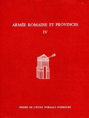 Téléchargez le livre :  Armée romaine et provinces, IV
