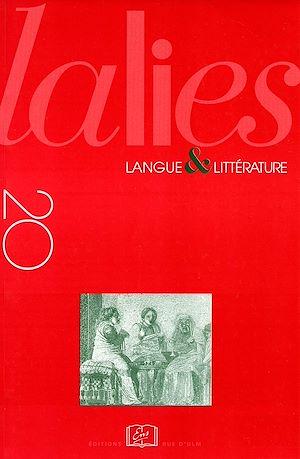 Téléchargez le livre :  Lalies 20