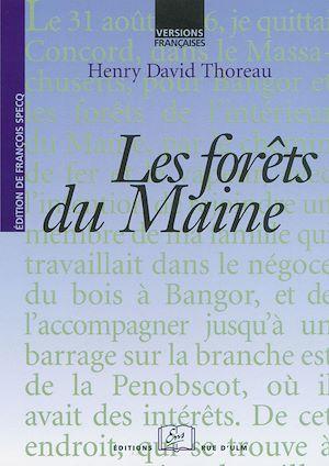 Téléchargez le livre :  Les forêts du Maine