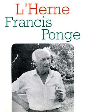 Téléchargez le livre :  Cahier de L'Herne n° 51 : Francis Ponge