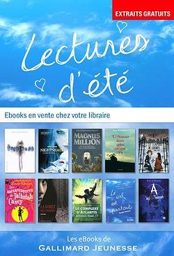 Téléchargez le livre numérique:  EXTRAITS - 10 romans Gallimard Jeunesse