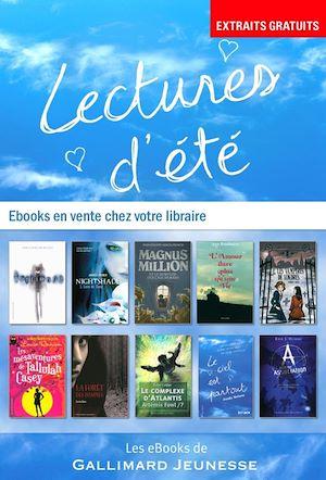 Téléchargez le livre :  EXTRAITS - 10 romans Gallimard Jeunesse