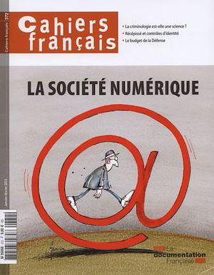 Téléchargez le livre :  Cahiers français : La société numérique - n°372