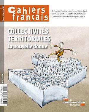 Téléchargez le livre :  Cahiers français : Collectivités territoriales - n°391