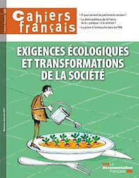 Télécharger le livre : Cahiers français : Exigences écologiques et transformations de la société - n°401