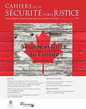 Téléchargez le livre :  Cahiers de la sécurité et de la justice : Sécurité et justice au Canada - n°43