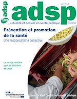 Télécharger le livre :  Prévention et promotion de la santé